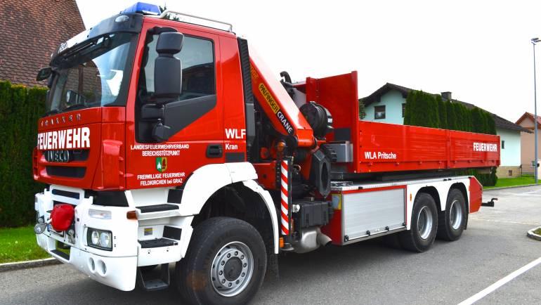 WLF-Einsatz Kalsdorf