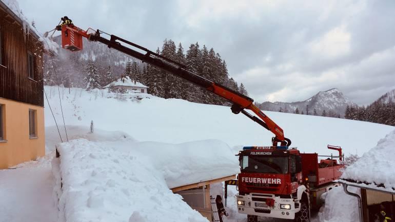 Katastrophen Hilfsdienst im Raum Mariazell