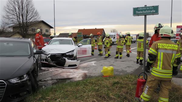 Verkehrsunfall LB 67