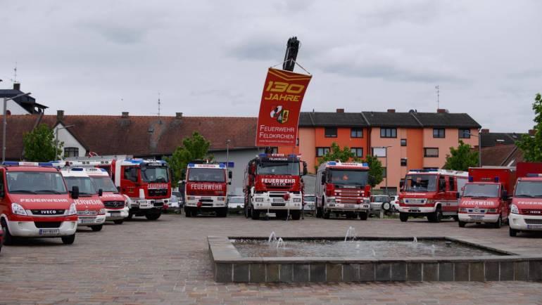 130-Jahr-Feier der Freiwilligen Feuerwehr Feldkirchen