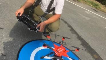 Projekt Drohne & Aktion Blackout Prävention