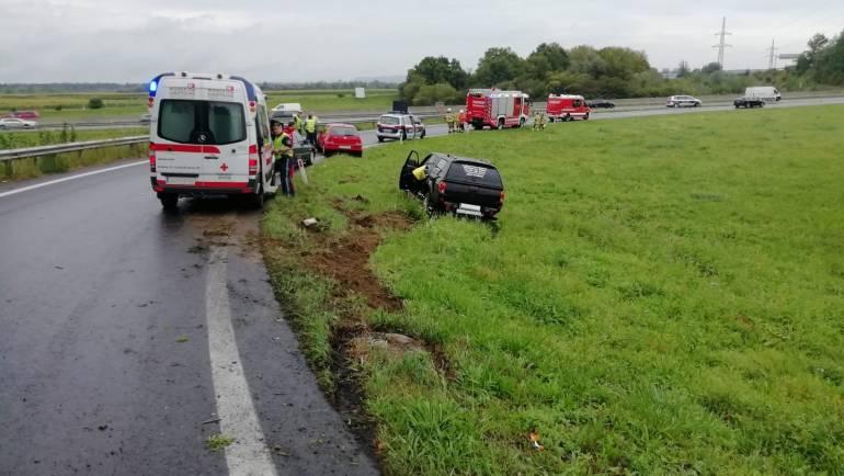 Verkehrsunfall A2 Richtung Klagenfurt