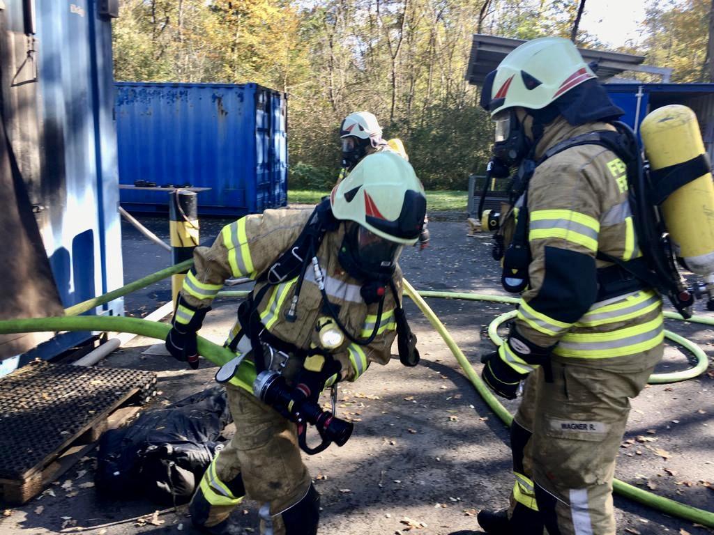 Heißbrandausbildung in Lebring