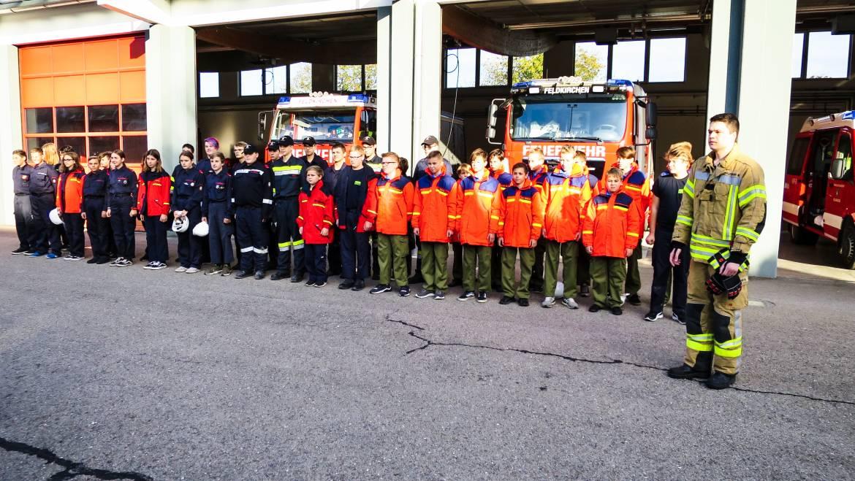 Einsatzübung der Feuerwehrjugend