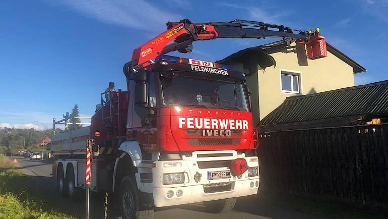 WLF Einsatz in Werndorf