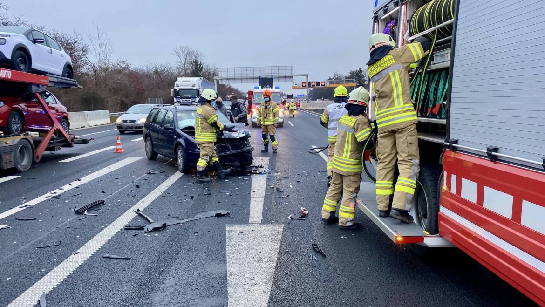Verkehrsunfall A2