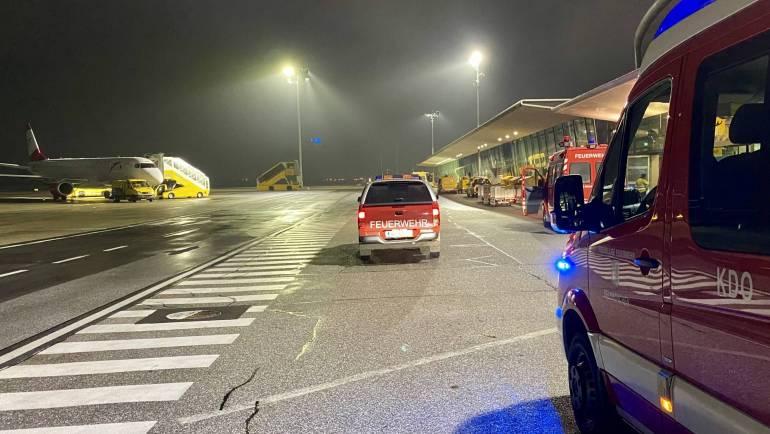 BMA Alarm Flughafen Graz