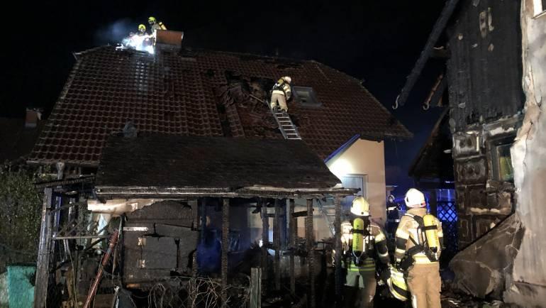 Wohnhausbrand in Neuwindorf