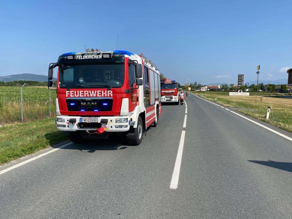 Verkehrsunfall Umfahrungsstraße