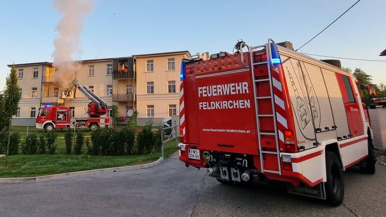 Wohnungsbrand in Kalsdorf
